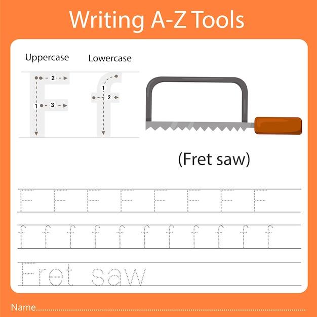 Écriture az outils f