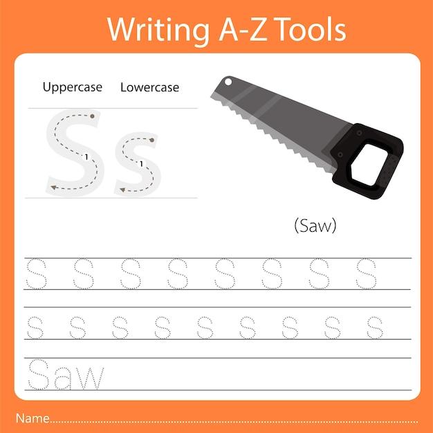 Écriture az outils s