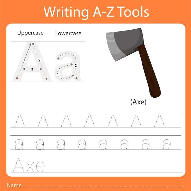 Écriture az outils a