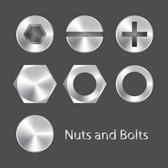 Écrous et boulons