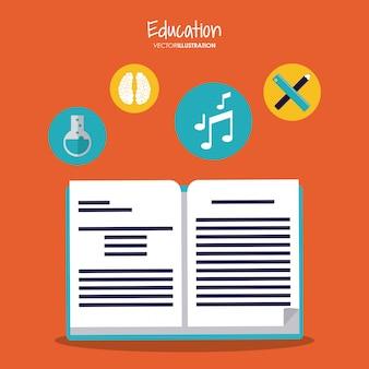 Éducation apprenant le design d'école