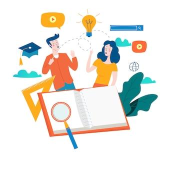 Education, cours de formation en ligne, tutoriels et livres en ligne