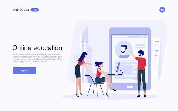 Education, formation et cours en ligne, apprentissage.