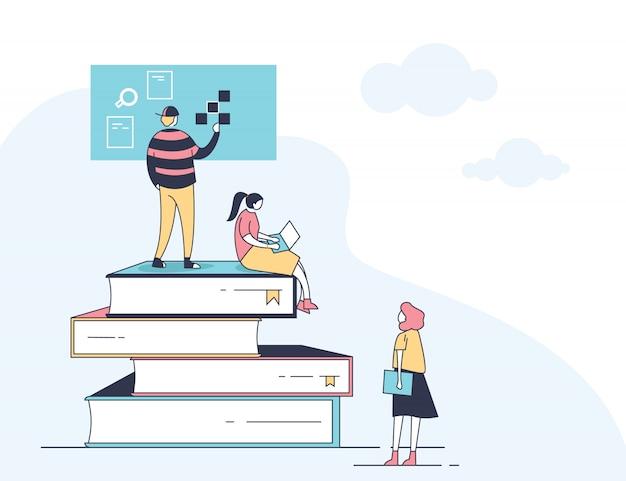 Education en ligne mobile