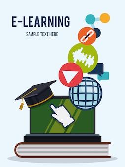 L'éducation en ligne.