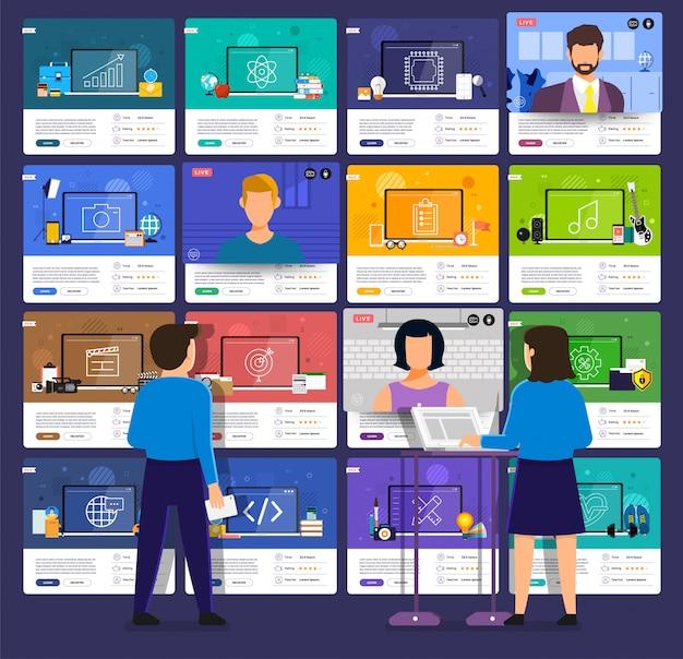 Éducation en ligne