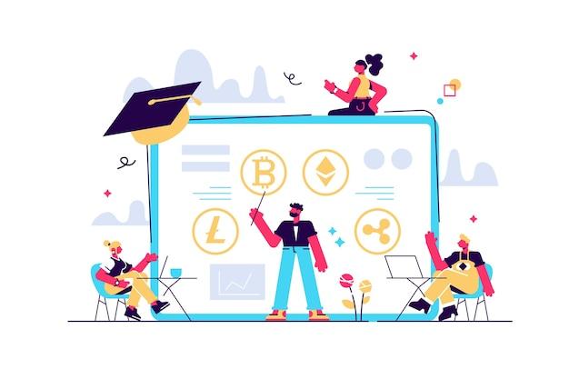 Education à la littératie financière, école de commerce électronique.