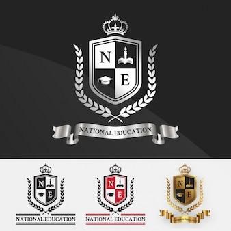 Education logo templates