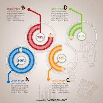 Éducation modèle de l'infographie