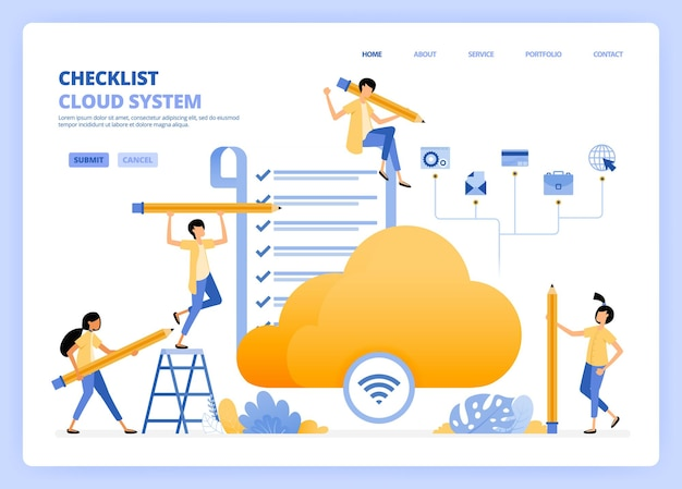 Effectuer des vérifications sur l'illustration de l'accès internet wifi et cloud