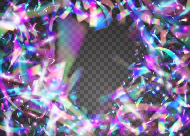 Effet cristal. art scintillant. feuille brillante. fond de métal violet. bokeh scintille. élément brillant. texture légère. fête célébrer la toile de fond. effet cristal bleu