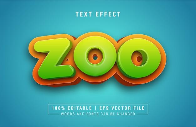 Effet de dégradé effet modifiable de texte agréable