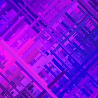 Effet de distorsion de fond violet violet glitch texture abstraite lignes diagonales de couleur aléatoire