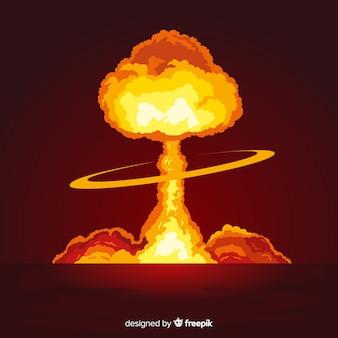 Effet d'explosion nucléaire brillant