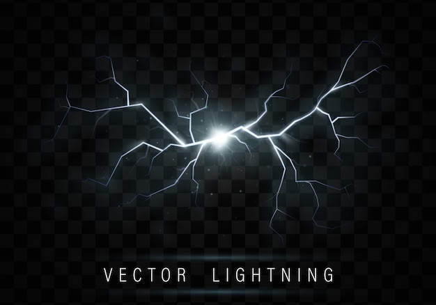 Effet de flash lumineux réaliste