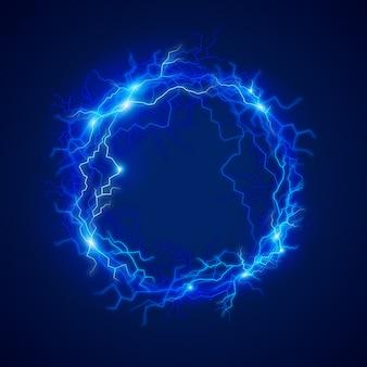 Effet de lumière boule électrique