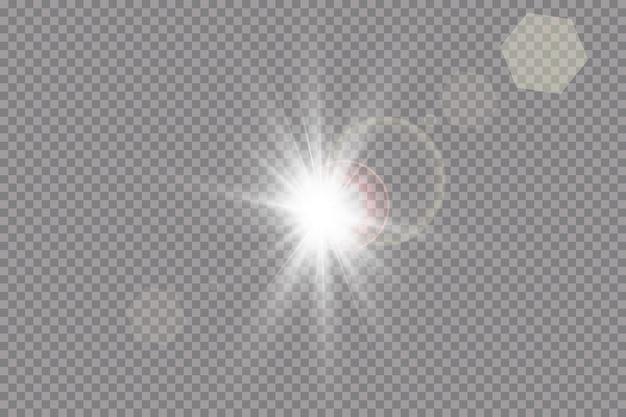 Effet de lumière de lumière parasite spéciale