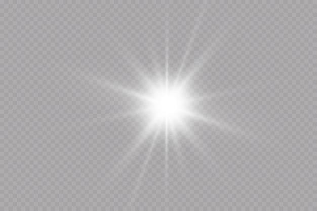 Effet lumineux étoiles scintillantes