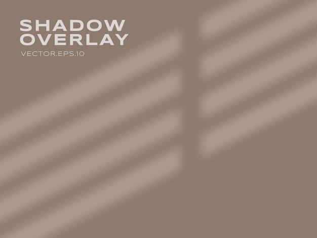 Effet d'ombre transparent du vecteur premium de vitre
