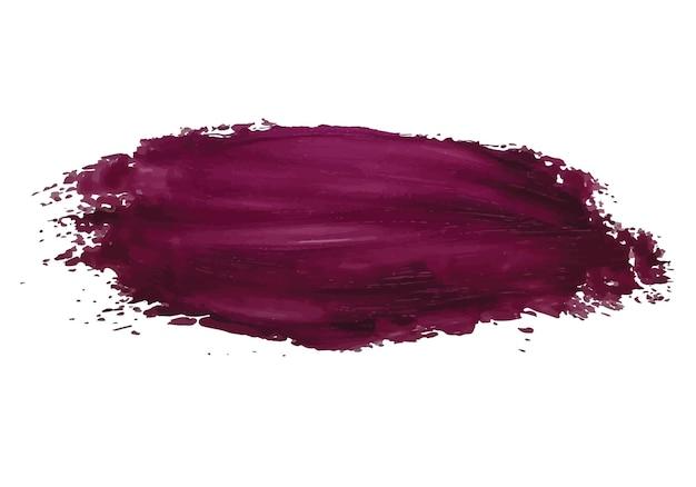Effet de pinceau de luxe. frottez avec un pinceau artistique. peinture acrylique texture tache dub