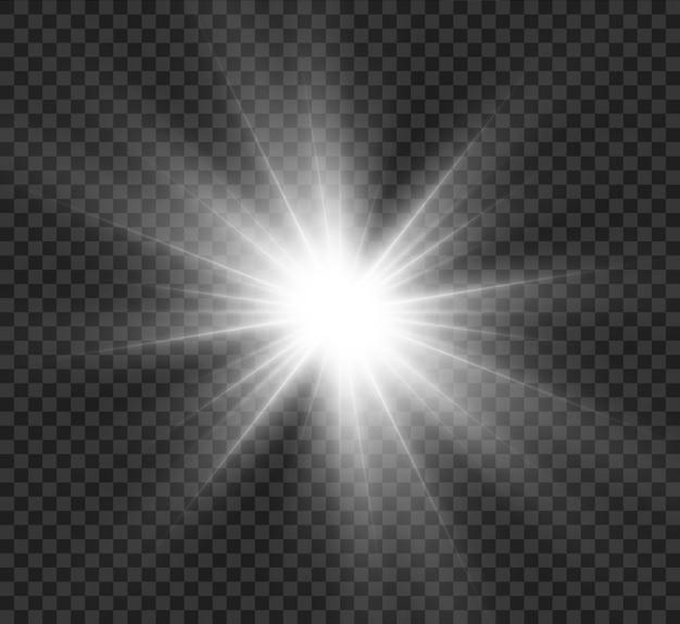 Effet spécial flash léger.