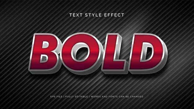 Effet de style de texte gras