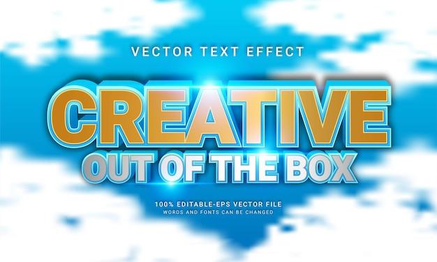 Effet de style de texte modifiable prêt à l'emploi avec la couleur bleue