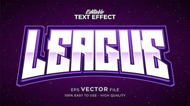 Effet de style de texte modifiable - thème de style de texte e sports