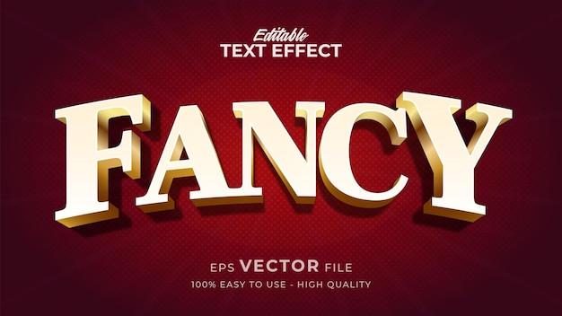 Effet de style de texte modifiable - thème de style de texte fantaisie