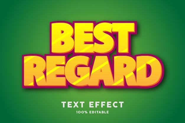 Effet de style de texte en or jaune