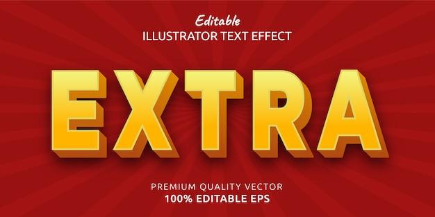 Effet de style de texte très modifiable