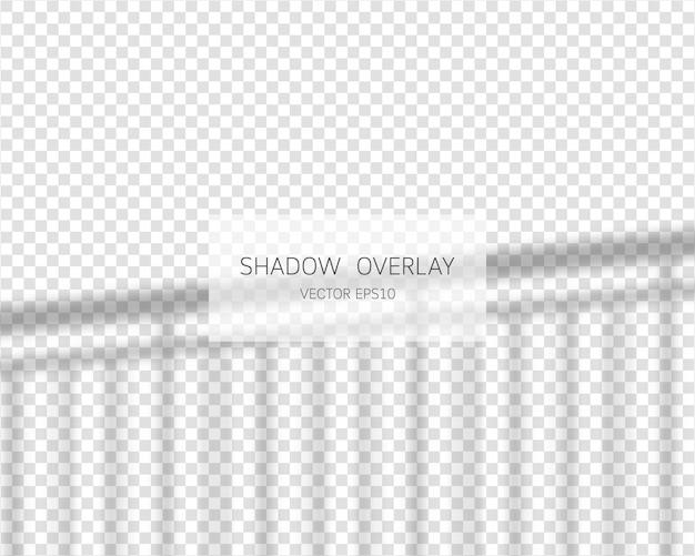 Effet De Superposition D'ombre Vecteur Premium