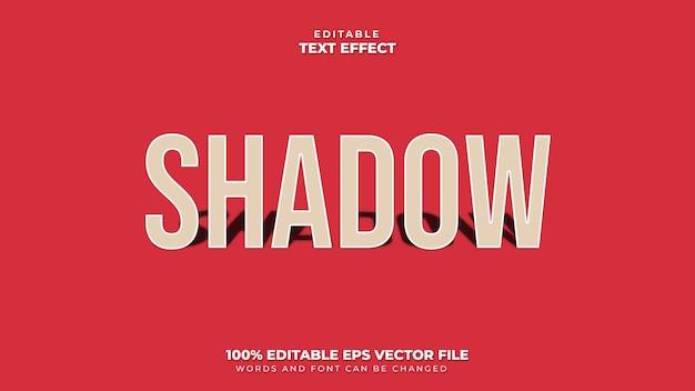 Effet de texte 3d d'ombre