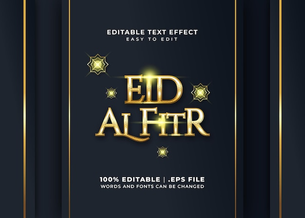 Effet de texte 3d ramadan kareem