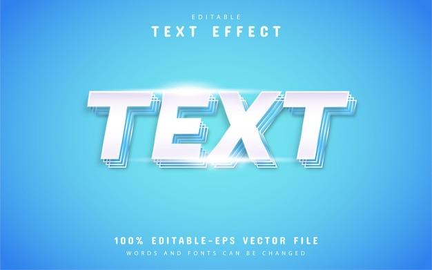 Effet de texte blanc