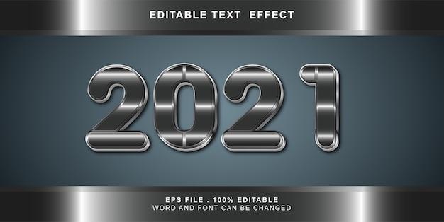 Effet de texte bonne année modifiable