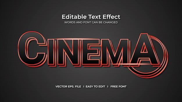 Effet de texte de cinéma