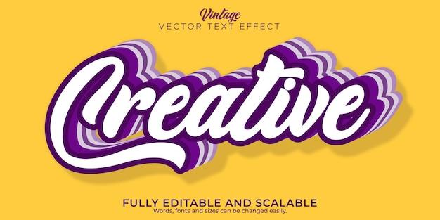 Effet de texte de citation créative, style de texte commercial et marketing modifiable