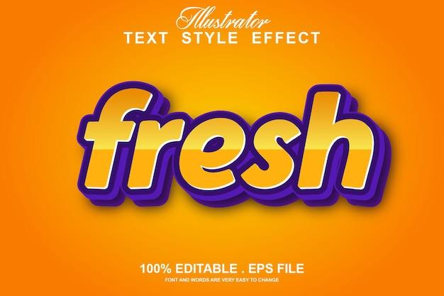 Effet de texte clinton modifiable isolé sur orange