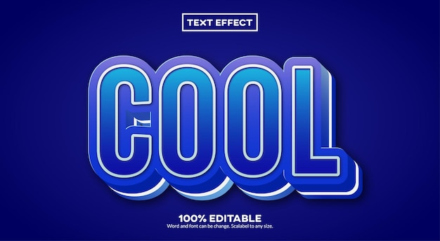 Effet de texte cool