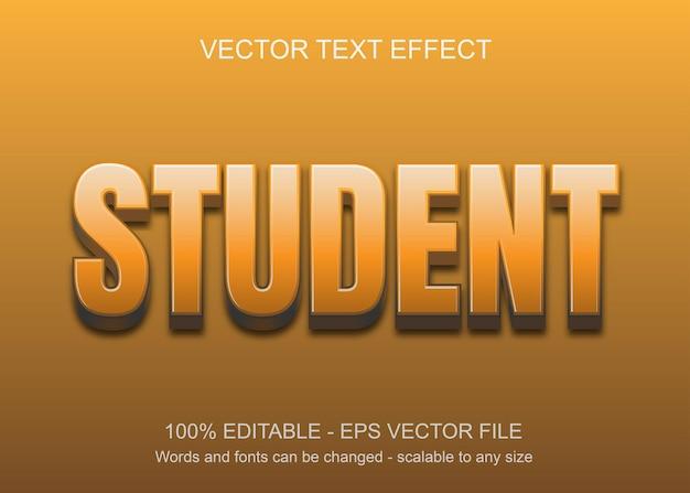 Effet de texte avec fond orange et texte orange