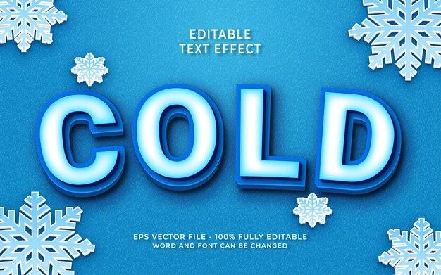 Effet de texte froid créatif