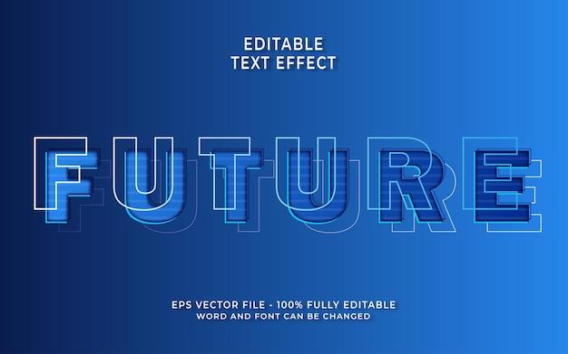 Effet de texte futur créatif