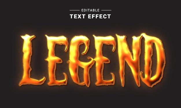 Effet de texte graffiti modifiable pour illustrateur