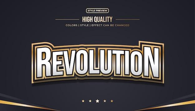 Effet de texte en gras 3d avec style e-sport pour le nom du logo de l'équipe e-sports ou l'identité du jeu