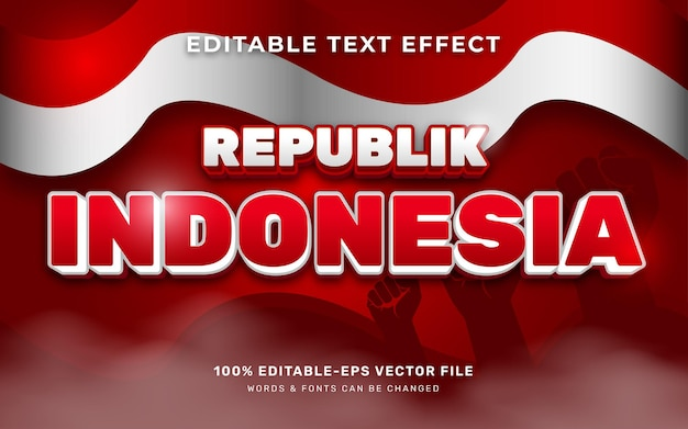 Effet de texte indonésien
