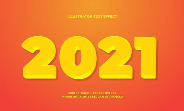 Effet de texte jaune clair de script ou modèle de style alphabet police