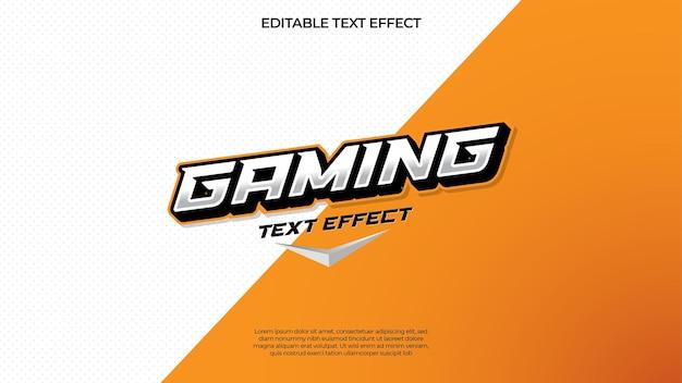 Effet de texte de jeu pour votre logo