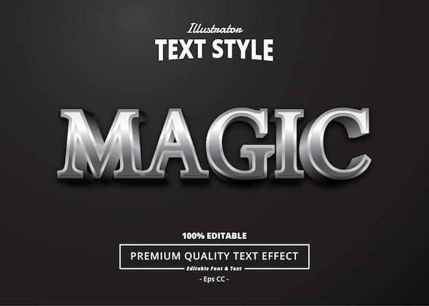 Effet de texte magique