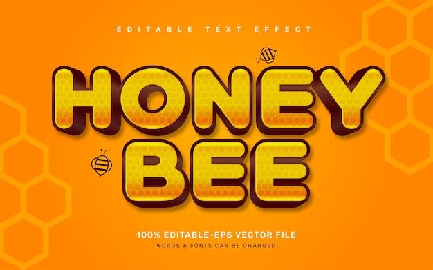 Effet de texte miel